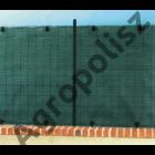 Rögzítő kapocs Ø 4 cm fekete Fixatex