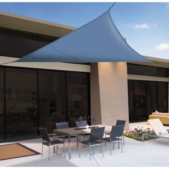 Árnyékoló ponyva / NAPVITORLA 3,6 m x 3,6 m négyzet Világos kék