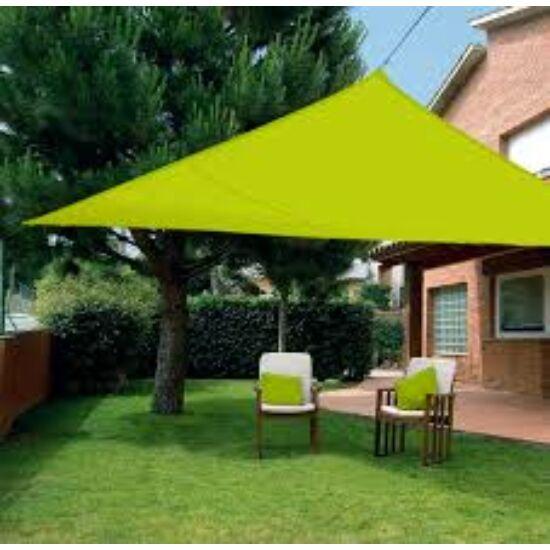 Árnyékoló ponyva / NAPVITORLA 3,6 m x 3,6 m x 3,6 m háromszög Zöld