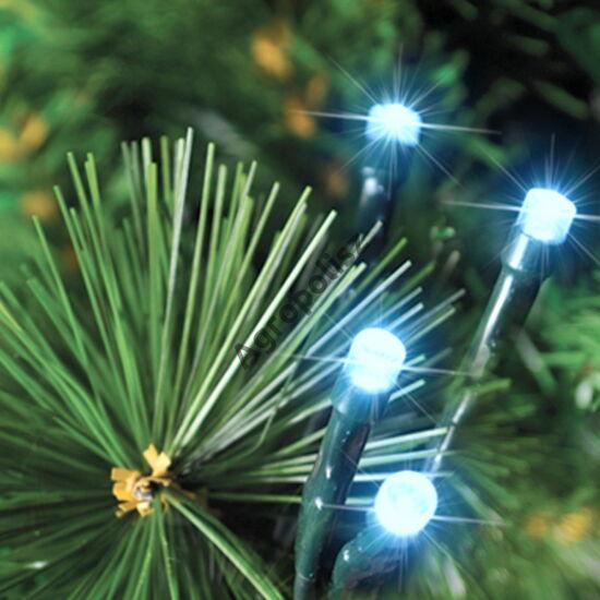 Beltéri kék 80 LED-s fényfüzér