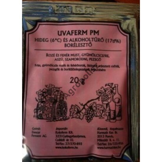 Borélesztő hideg- és alkoholtűrő Uvaferm PM 20 g