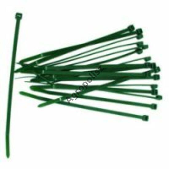 Zöld gyorskötöző 14 cm 50 db/csomag