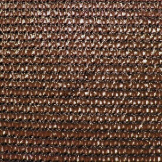 Árnyékoló háló 90 %-s MEDIUMTEX / Browntex, 2 m x 10 m barna