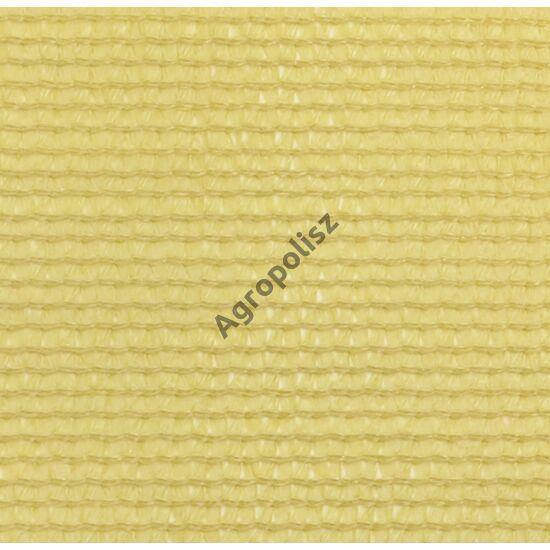 Árnyékoló háló 80 %-s, 2 m x 50 m beige / bézs