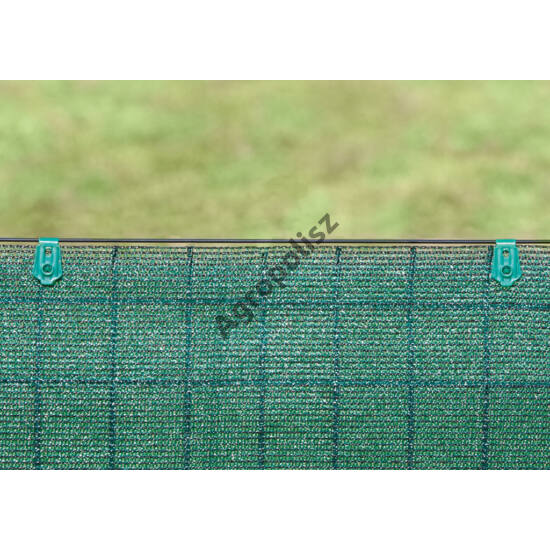 Rögzítő kapocs 2 x 2,5 cm 20 db / csomag zöld Fixatex