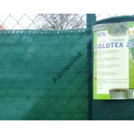 Árnyékoló háló 95 %-s GOLDTEX, 2 m x 10 m