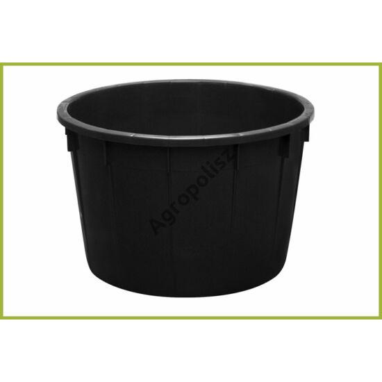 Szüretelőkád 700 l-s fekete