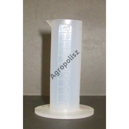 Mérőhenger 10 ml műanyag, osztásos