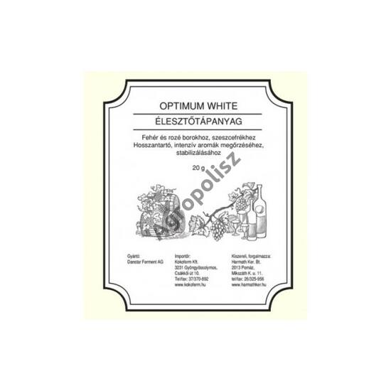 Élesztőtápanyag Optiumum White 30 g
