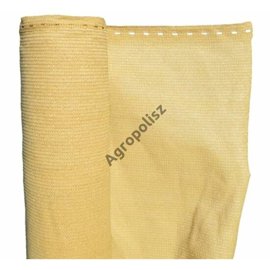 Árnyékoló háló 90 %-s SAHARA, 1,5 m x 10 m bézs / beige
