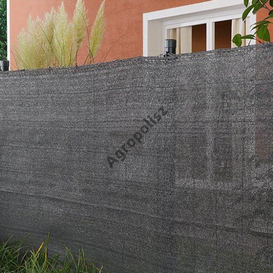Árnyékoló háló 90 %-s MEDIUMTEX / Greytex, 2 m x 10 m szürke