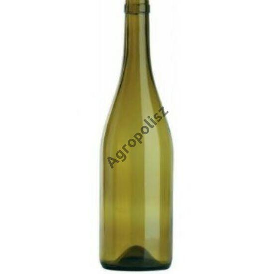 Burgundi caracter üveg 0,75 l-s