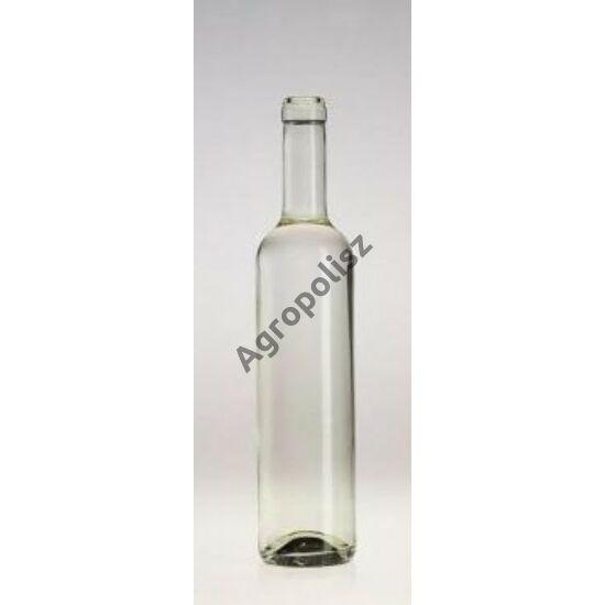 Pálinkás üveg Elit bordói 0,5 l-s
