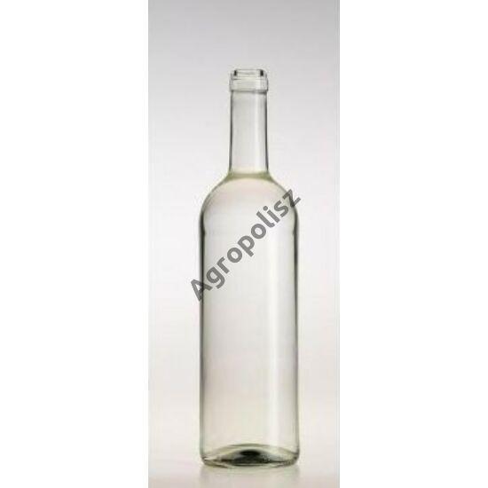 Boros üveg görög bordói 0,75 l-s 100 db felett