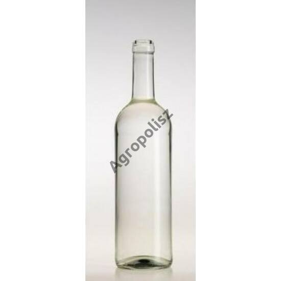 Boros üveg görög bordói 0,75 l-s